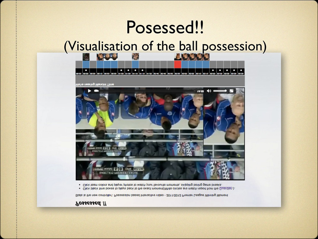 Posessed!! (Visualisation of the ball possessio...