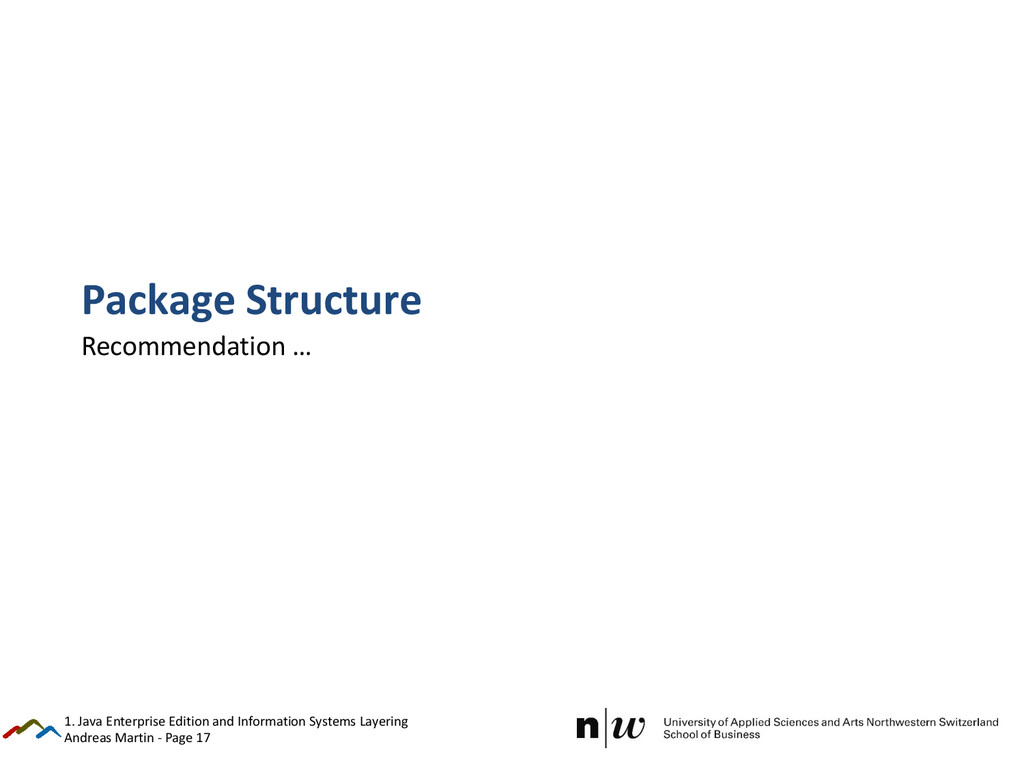 Andreas Martin - Page 17 Package Structure Reco...