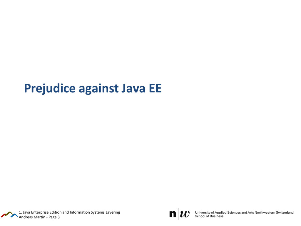 Andreas Martin - Page 3 Prejudice against Java ...