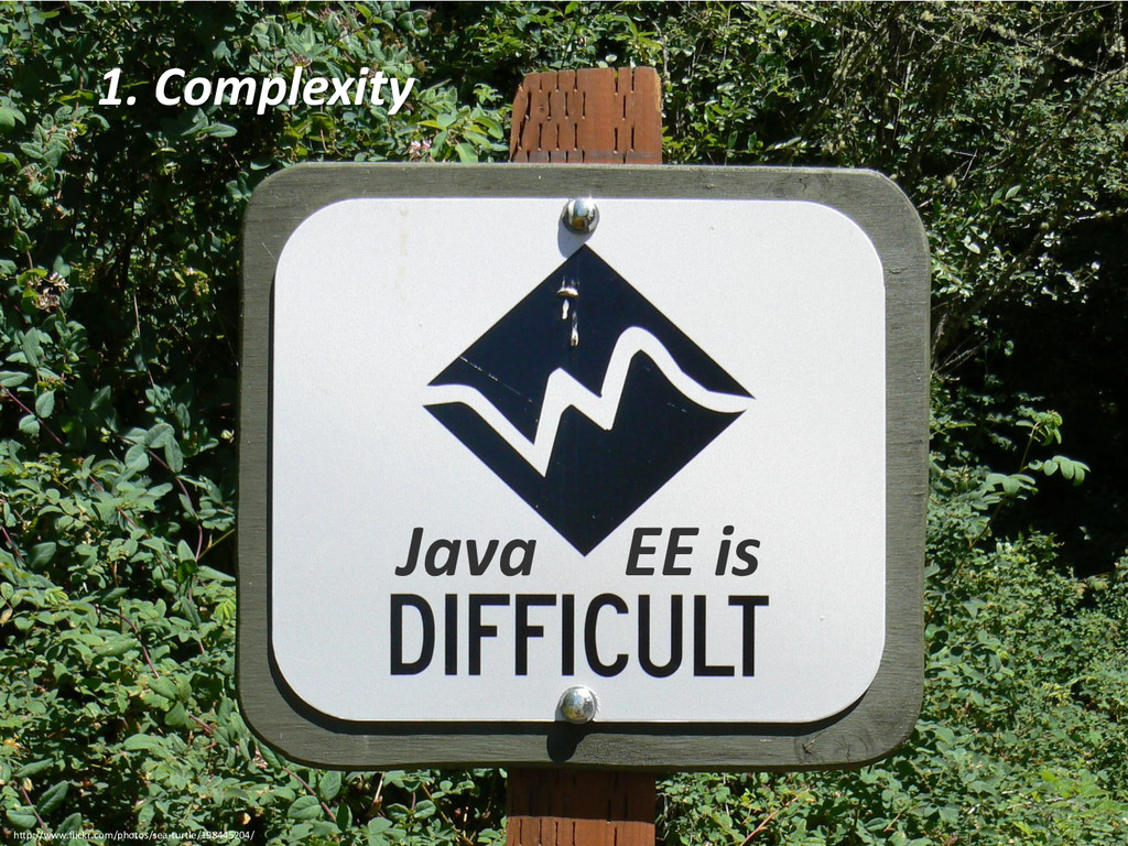 Andreas Martin - Page 4 1. Complexity Java EE i...