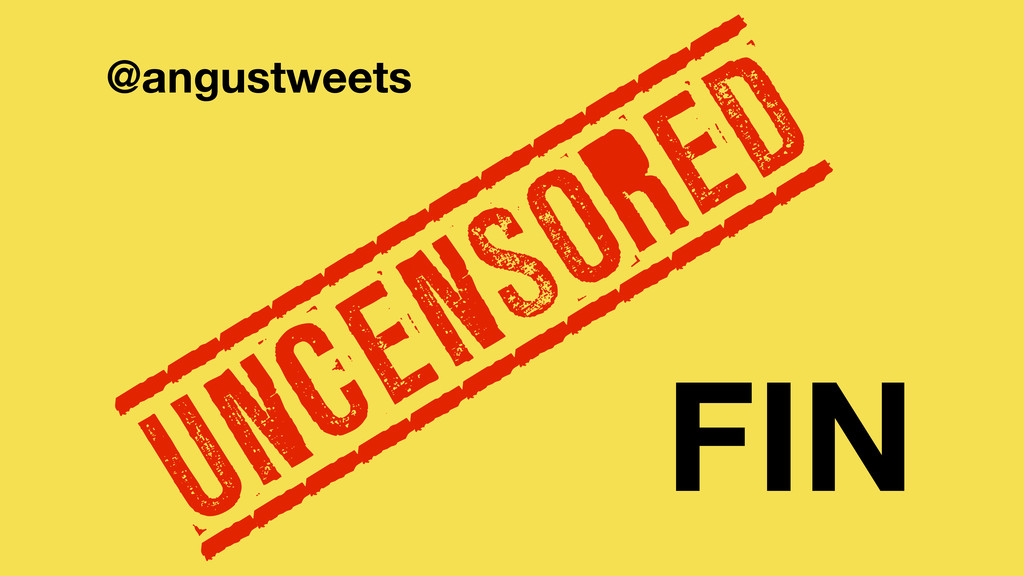 @angustweets FIN UNCENSORED ____________ ______...
