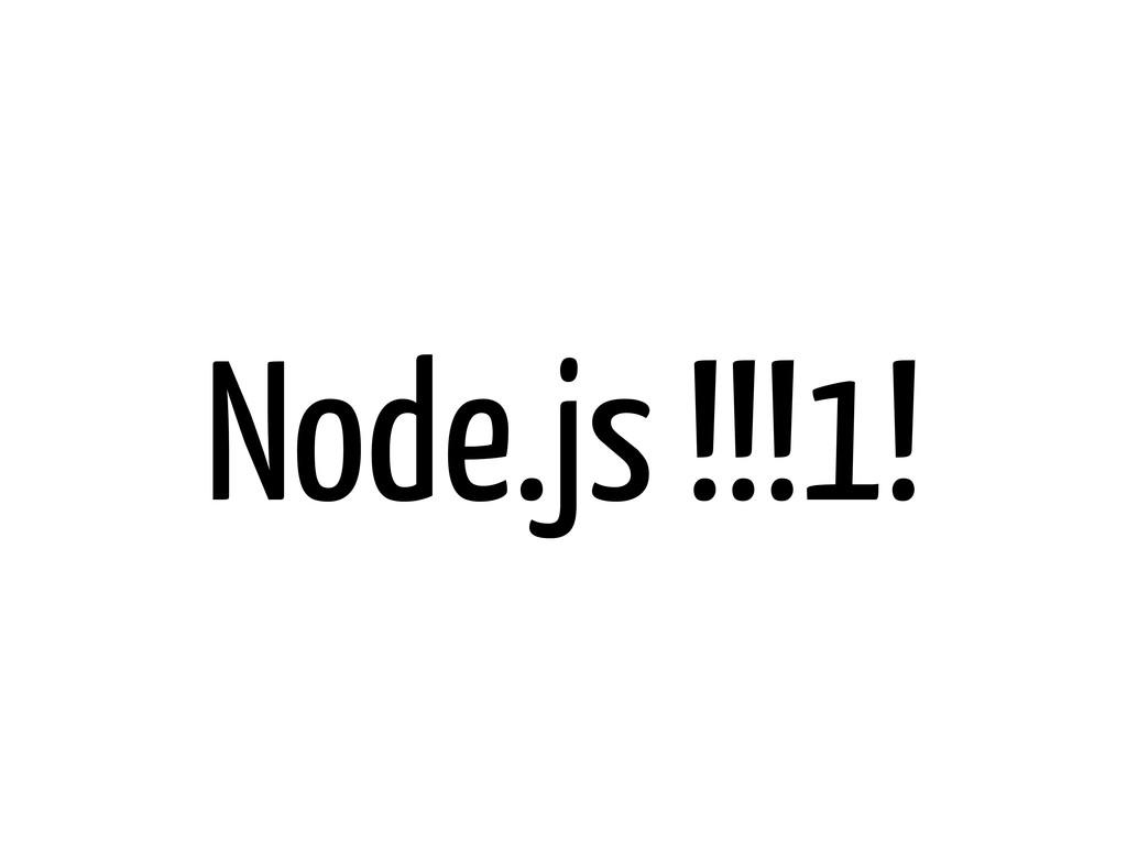 Node.js !!!1!