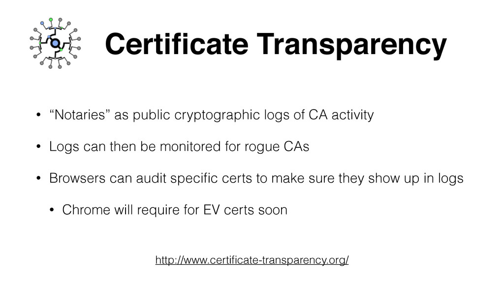 """Certificate Transparency • """"Notaries"""" as public ..."""