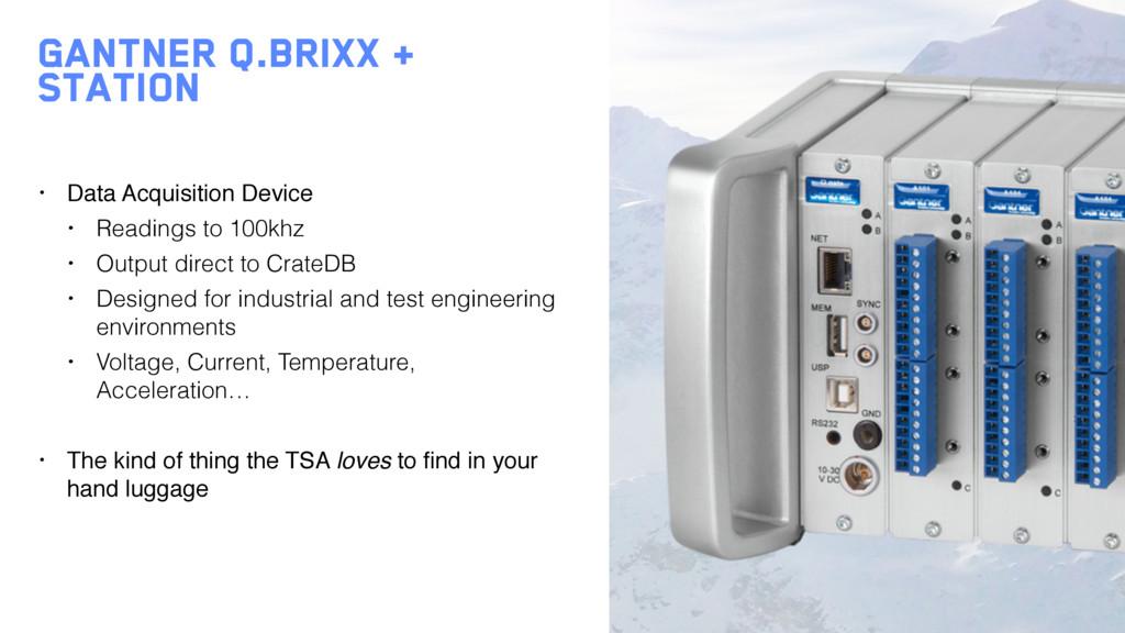 Gantner q.brixx + station • Data Acquisition De...