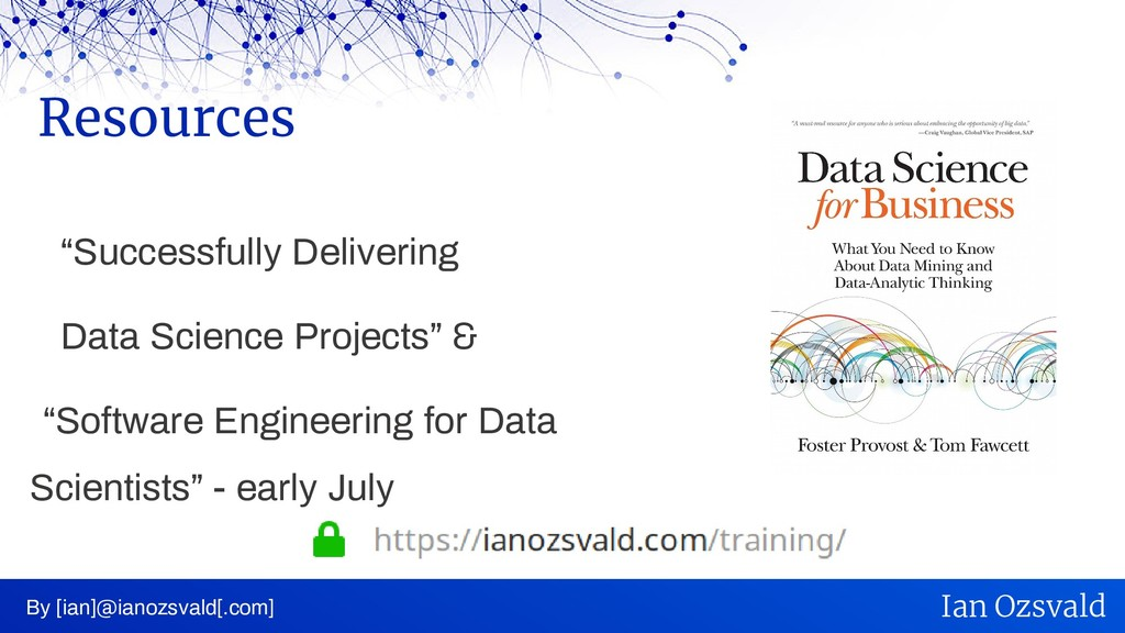 """Successfully Delivering Data Science Projects""..."