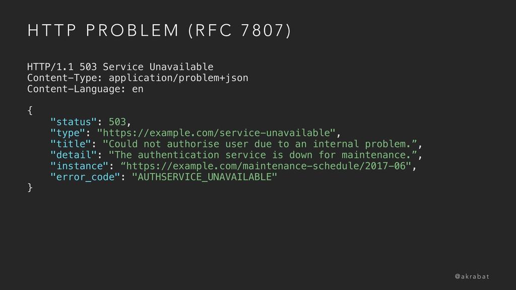 H T T P P R O B L E M ( R F C 7 8 0 7 ) HTTP/1....