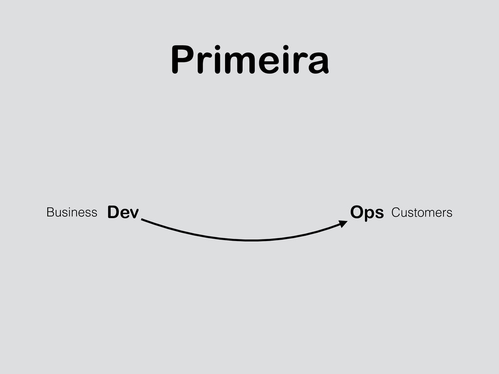 Primeira Dev Ops Business Customers