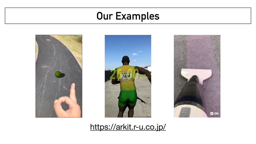 Our Examples https://arkit.r-u.co.jp/