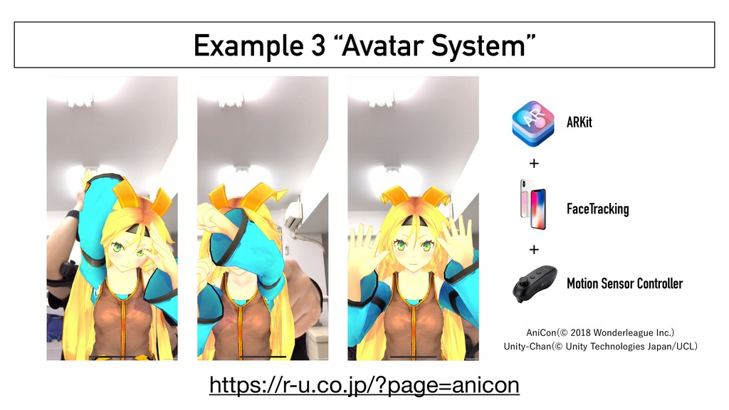 """Example 3 """"Avatar System"""" ARKit FaceTracking Mo..."""