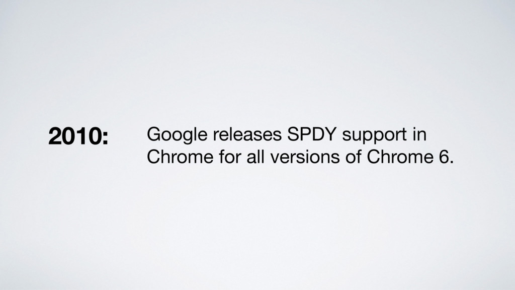 Google releases SPDY support in Chrome for all ...