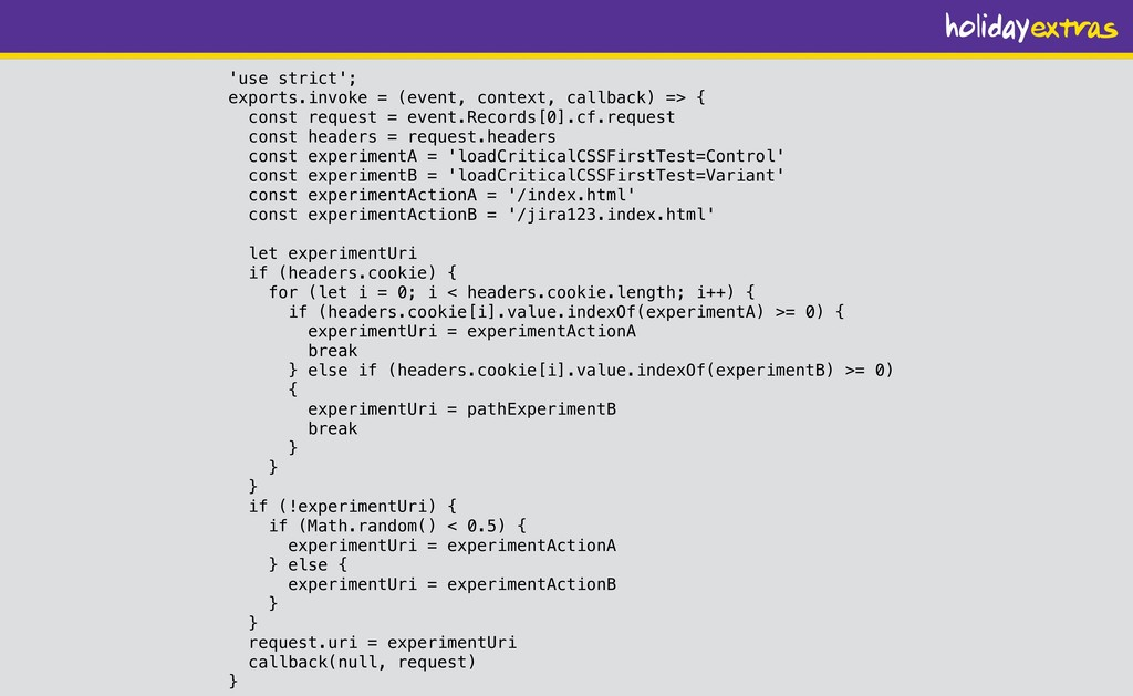 'use strict'; exports.invoke = (event, context,...