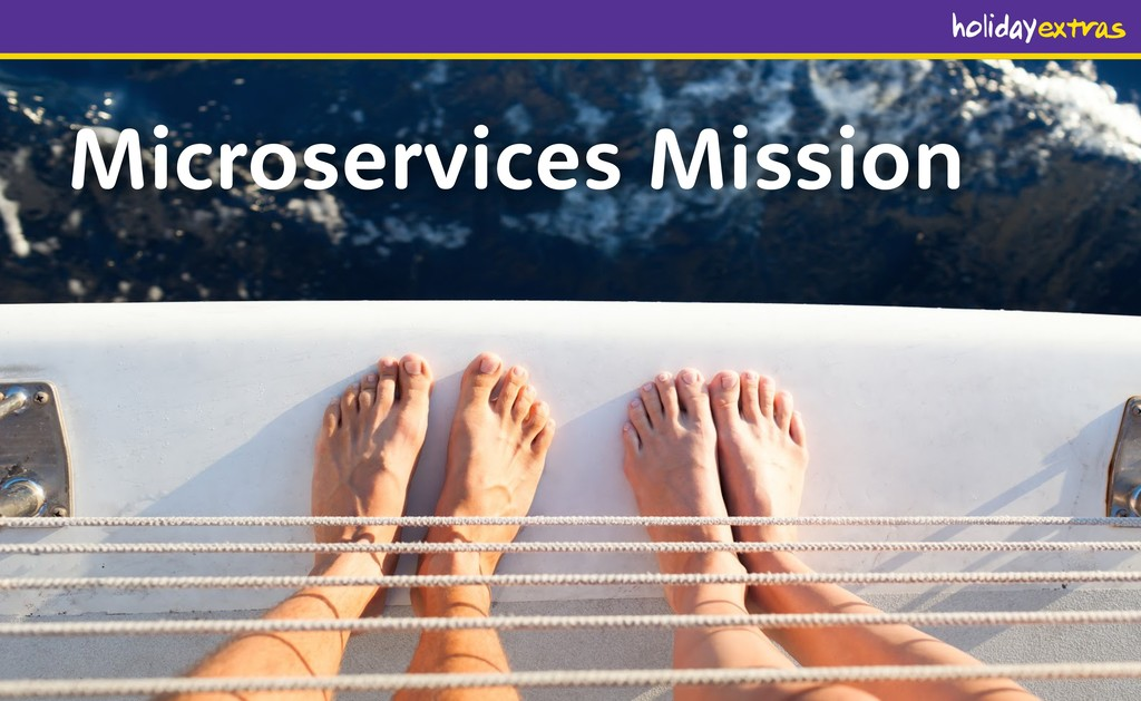 Microservices Mission