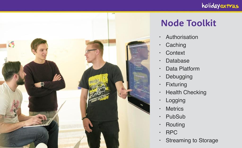 Node Toolkit • Authorisation • Caching • Contex...