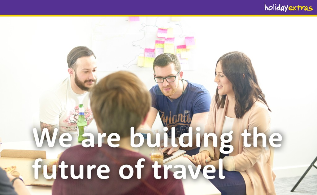 We are building the future of travel