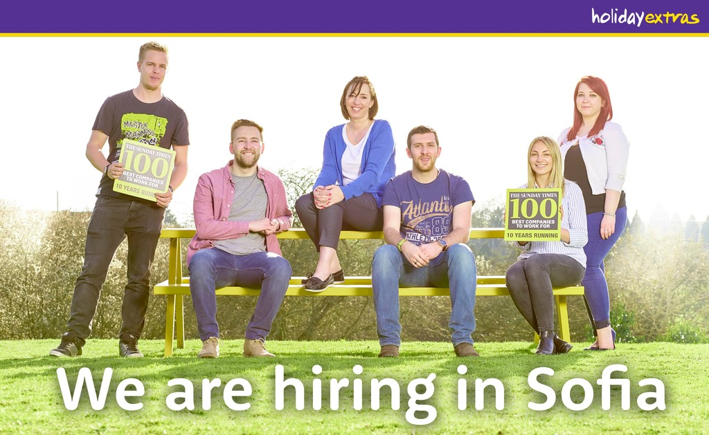 We are hiring in Sofia