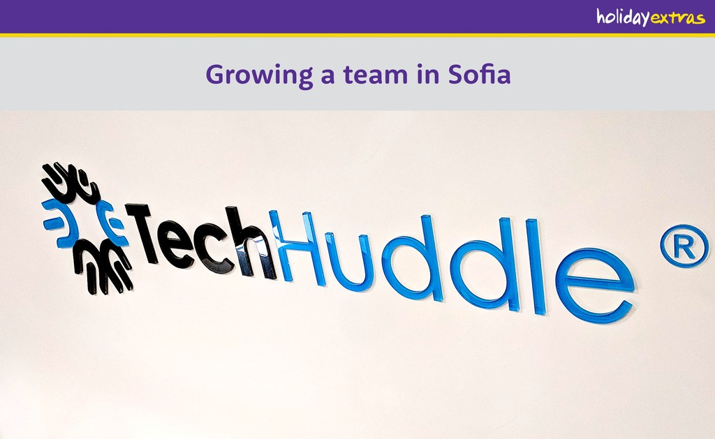 Growing a team in Sofia