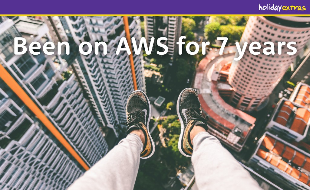 Been on AWS for 7 years