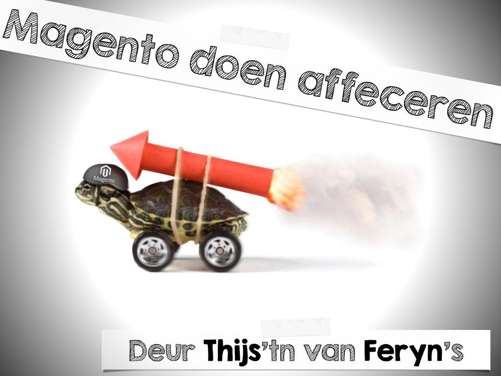 Magento doen affeceren Deur Thijs'tn van Feryn's