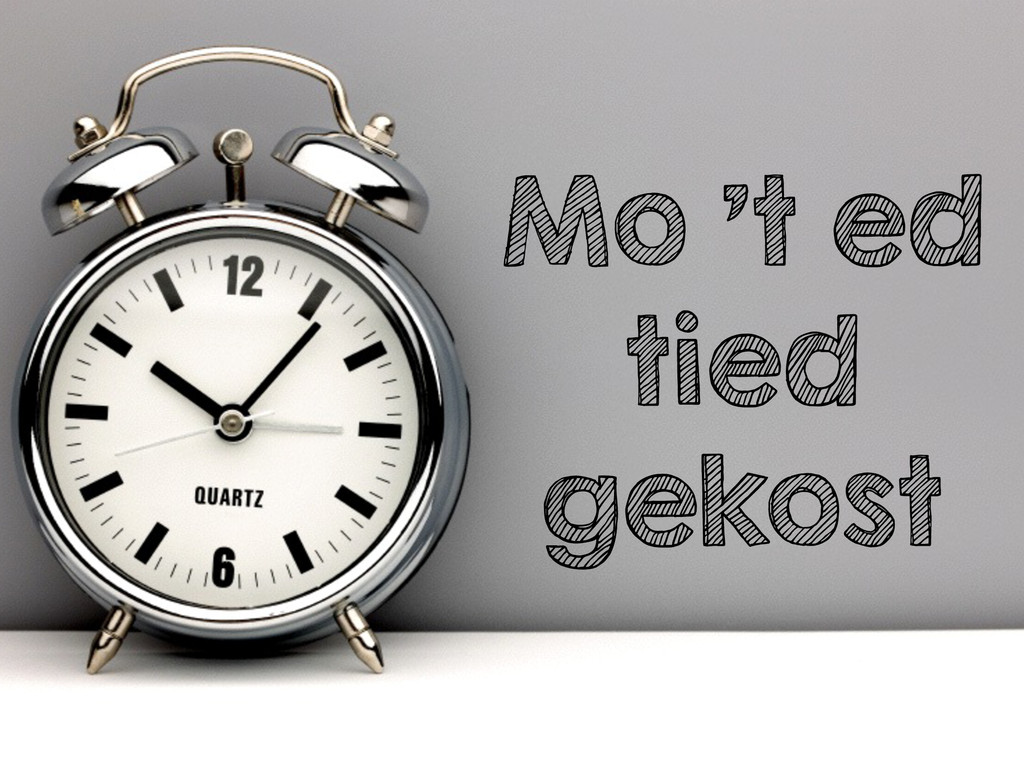 Mo 't ed tied gekost