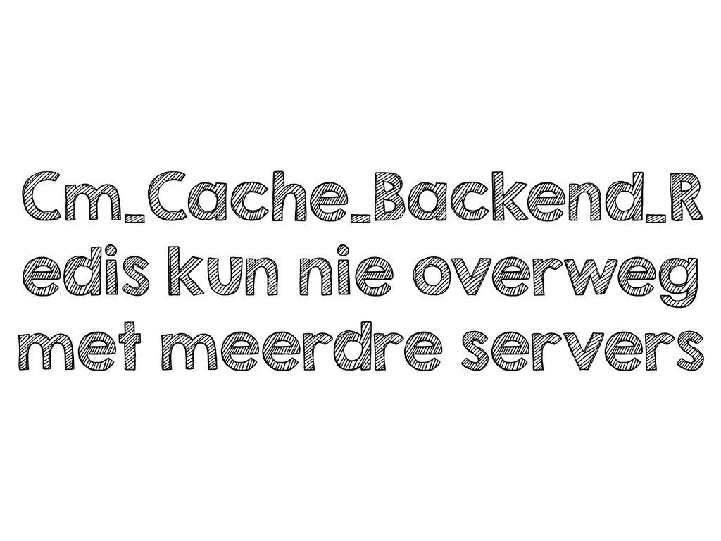 Cm_Cache_Backend_R edis kun nie overweg met mee...