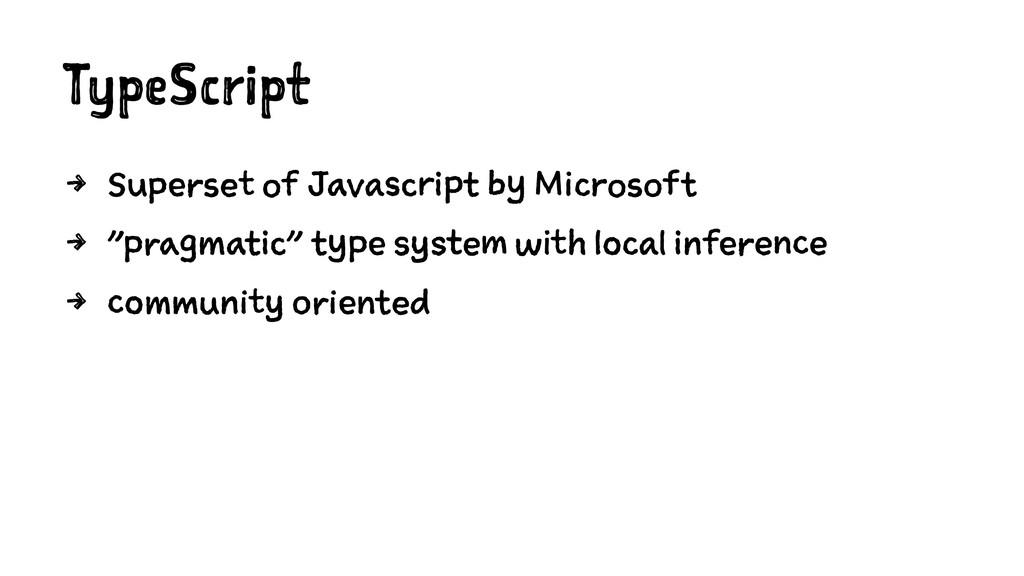 TypeScript 4 Superset of Javascript by Microsof...