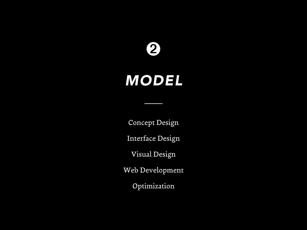 MODEL Concept Design Interface Design Visual De...