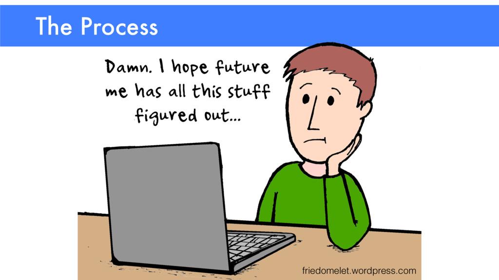The Process friedomelet.wordpress.com