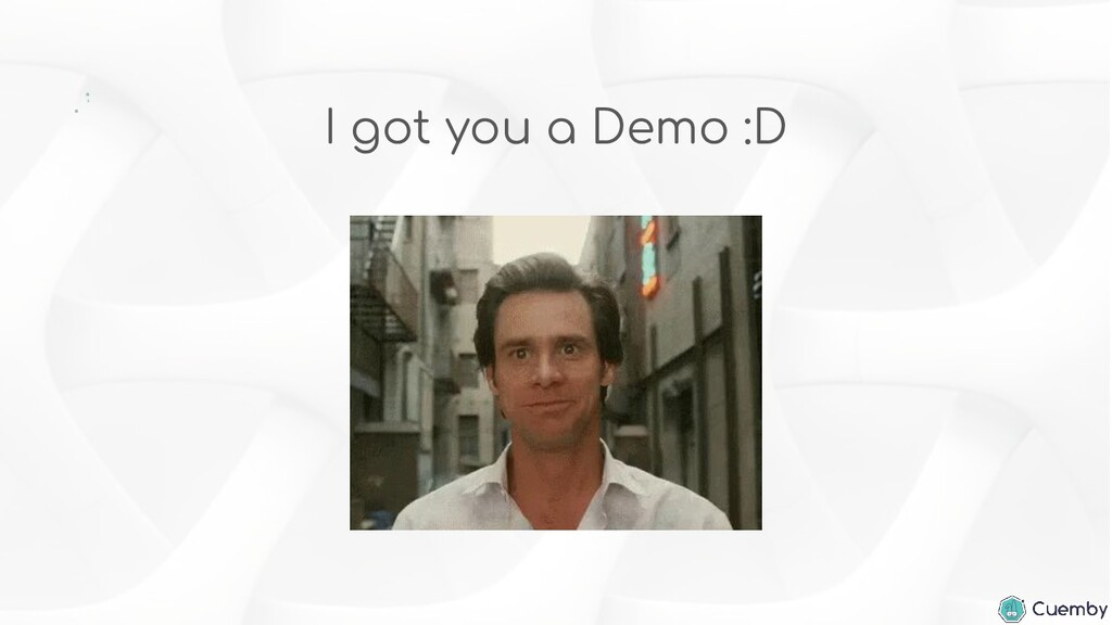 I got you a Demo :D