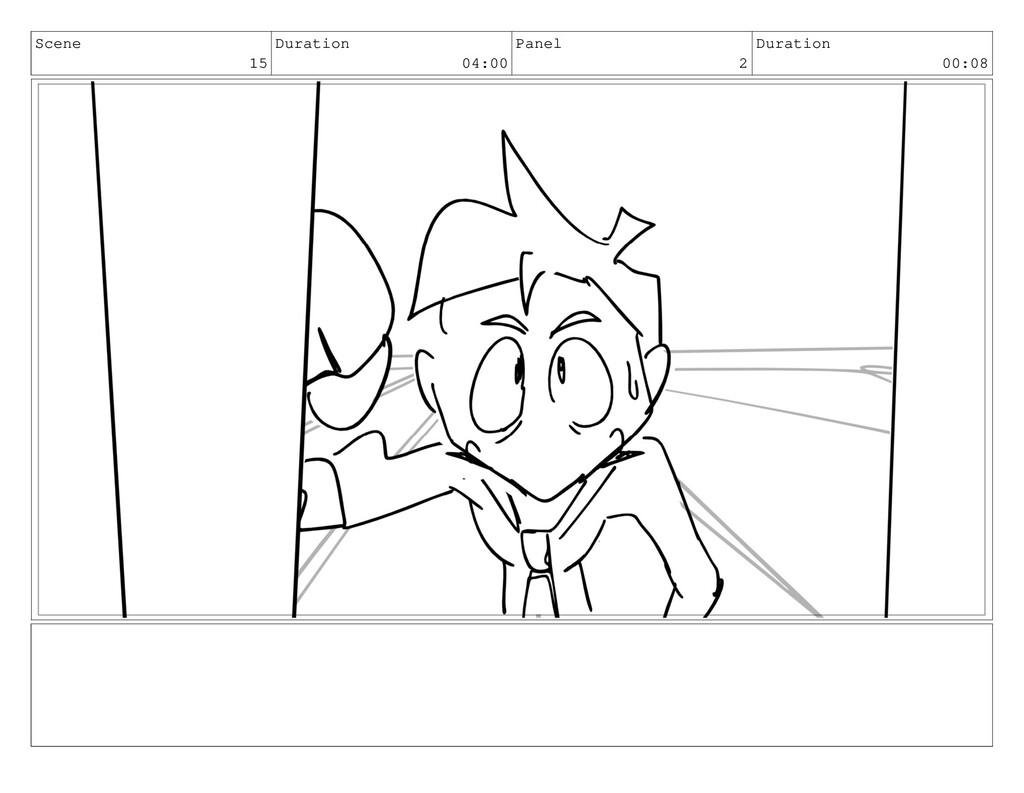 Scene 15 Duration 04:00 Panel 2 Duration 00:08