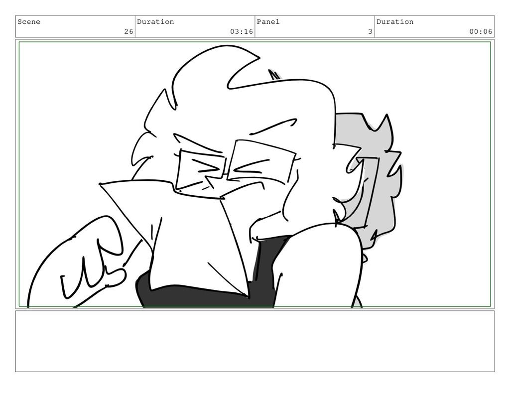 Scene 26 Duration 03:16 Panel 3 Duration 00:06
