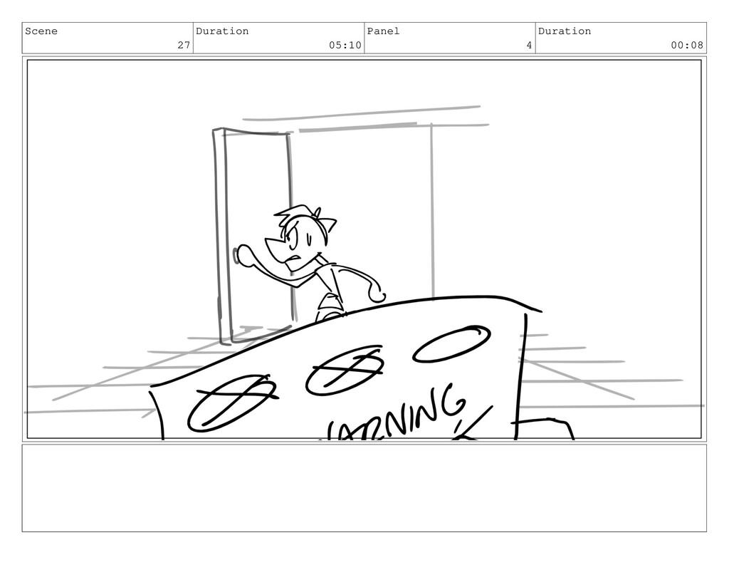 Scene 27 Duration 05:10 Panel 4 Duration 00:08