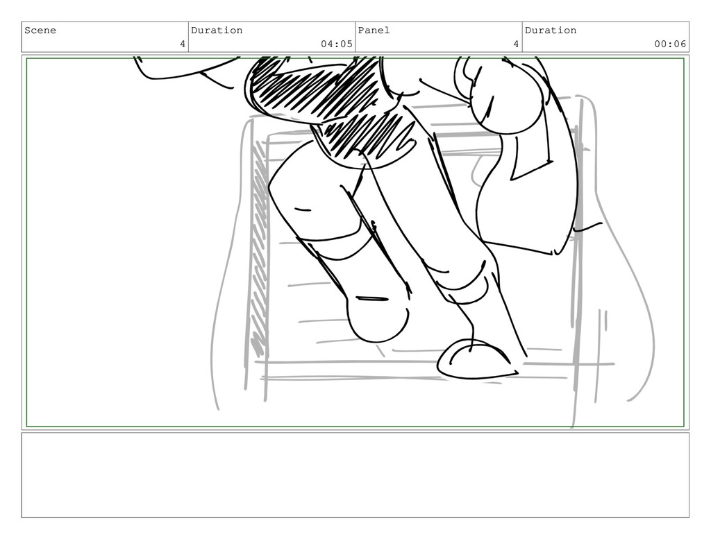 Scene 4 Duration 04:05 Panel 4 Duration 00:06