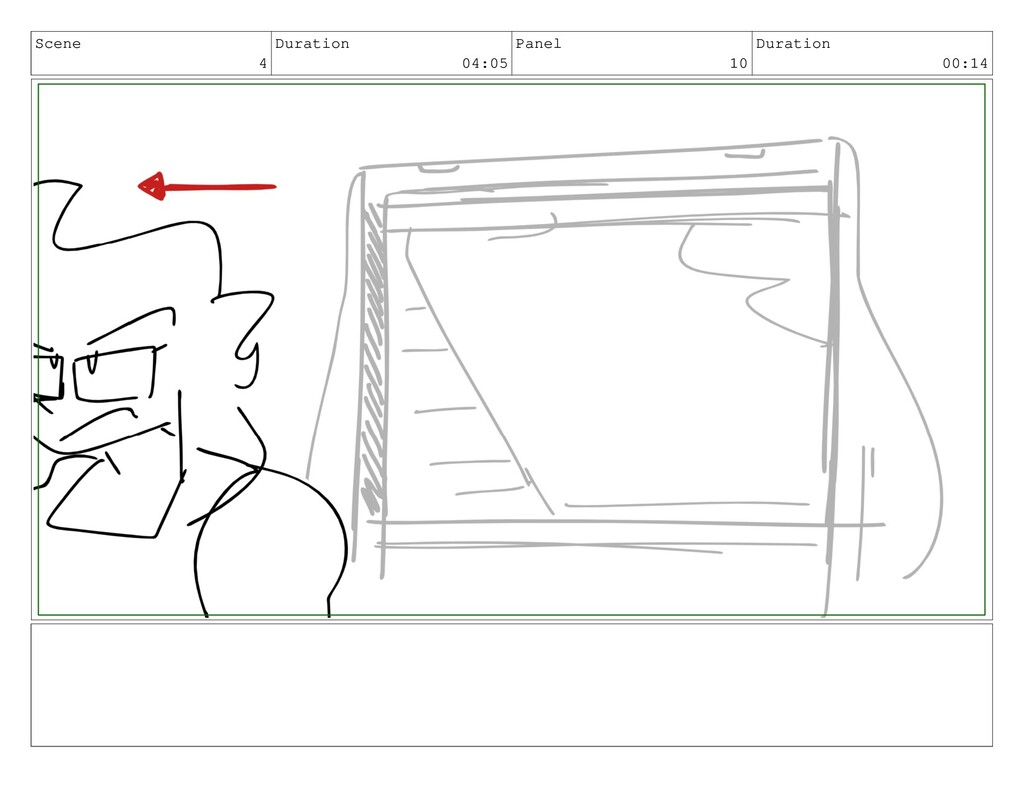 Scene 4 Duration 04:05 Panel 10 Duration 00:14