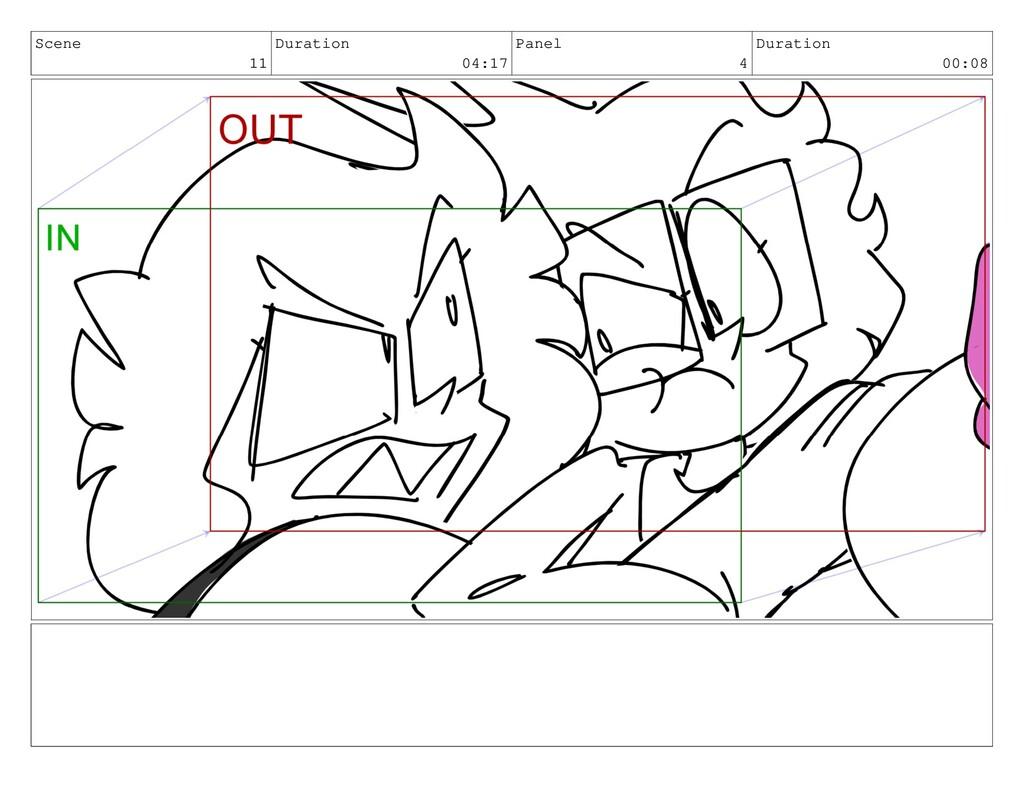 Scene 11 Duration 04:17 Panel 4 Duration 00:08