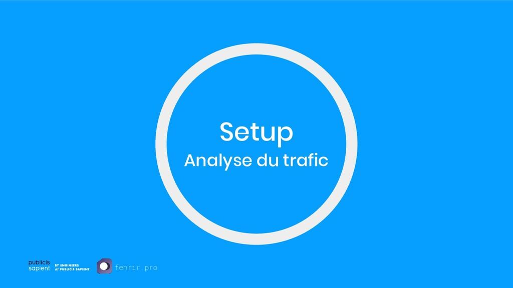Setup Analyse du trafic fenrir.pro