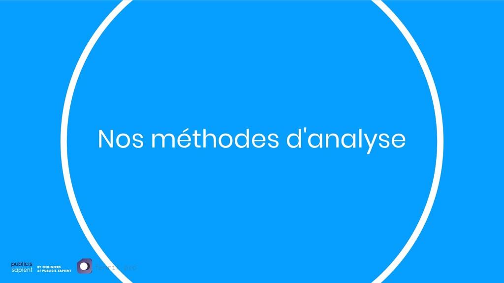 Nos méthodes d'analyse fenrir.pro