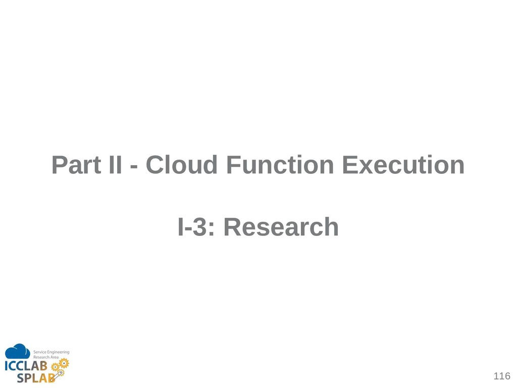 116 Part II - Cloud Function Execution I-3: Res...