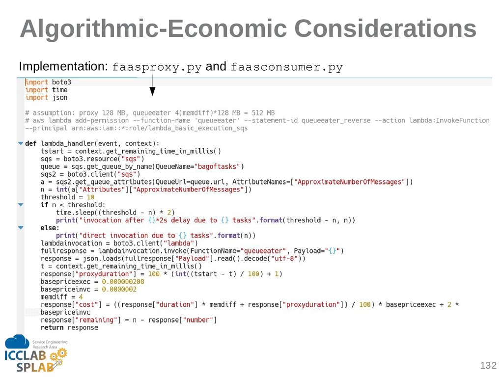 132 Algorithmic-Economic Considerations Impleme...