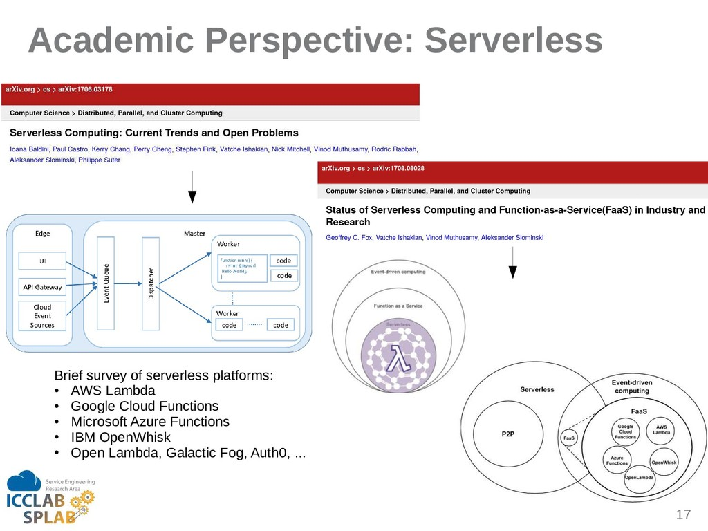 17 Academic Perspective: Serverless Brief surve...
