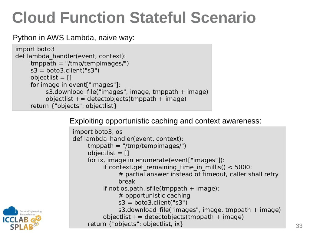 33 Cloud Function Stateful Scenario import boto...