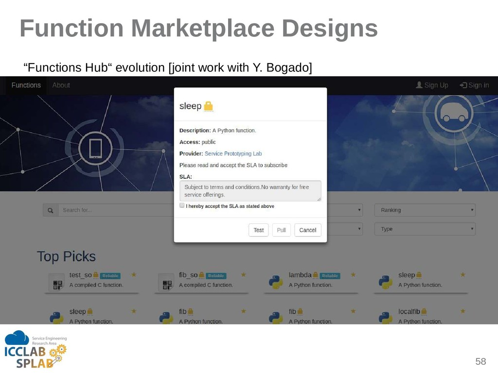 "58 Function Marketplace Designs ""Functions Hub""..."
