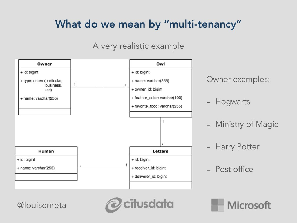 """What do we mean by """"multi-tenancy"""" A very reali..."""