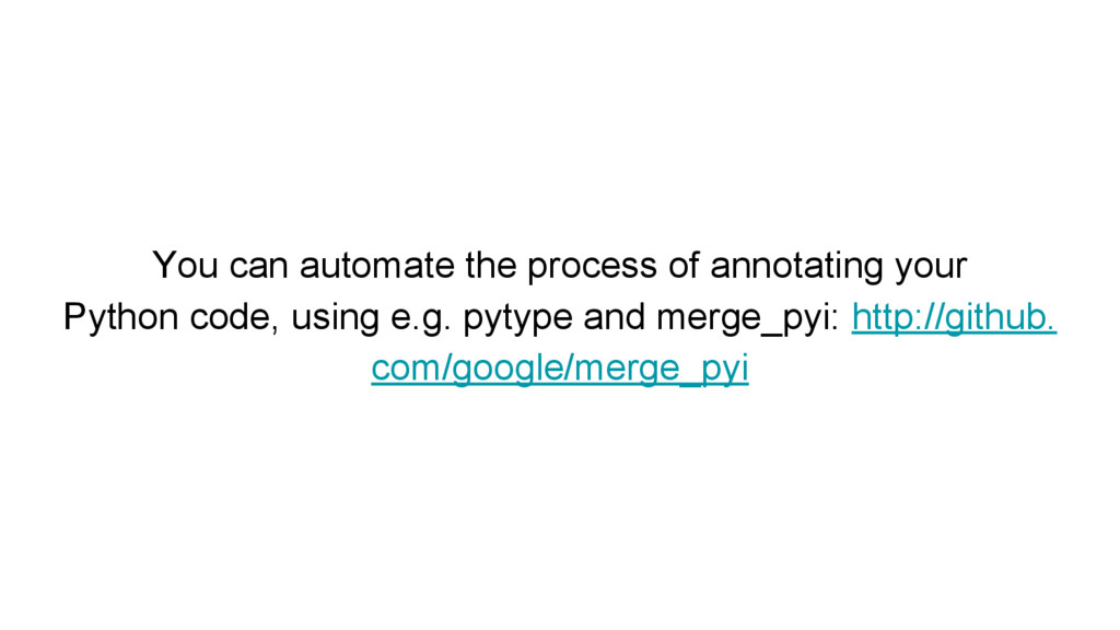You can automate the process of annotating your...