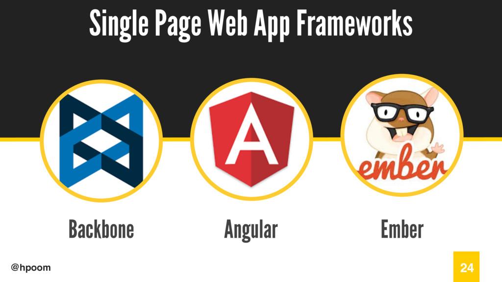 / @hpoom Backbone Single Page Web App Framework...