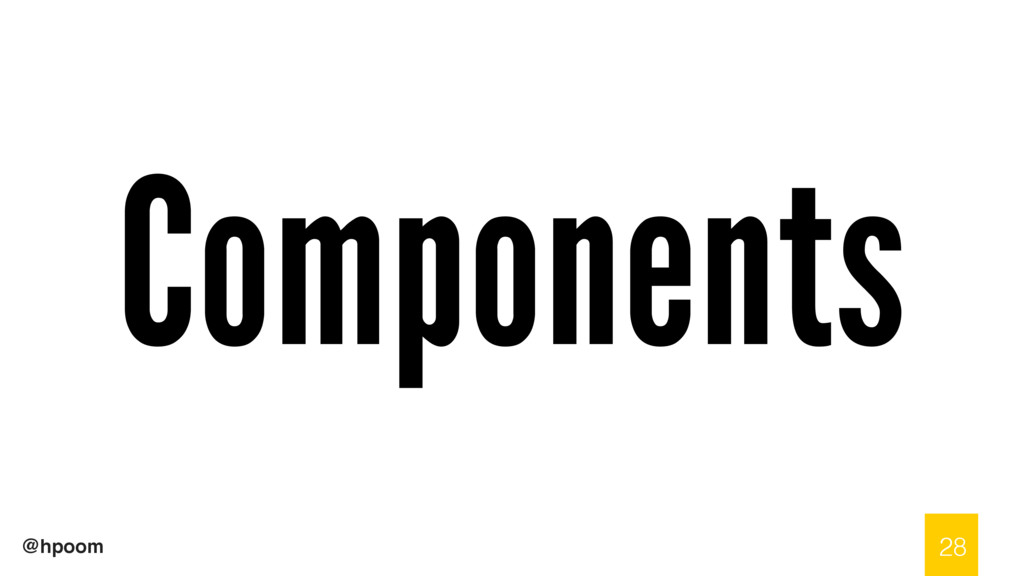 @hpoom Components 28