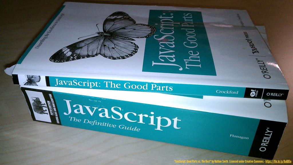 "@hpoom 5 ""JavaScript: Good Parts vs. The Rest"" ..."
