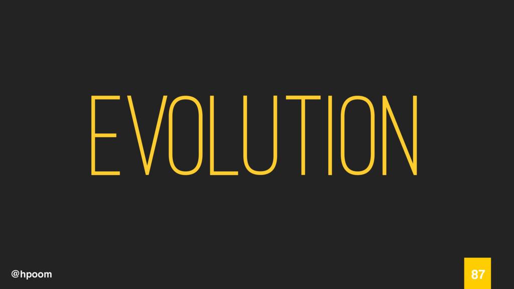 @hpoom Evolution 87