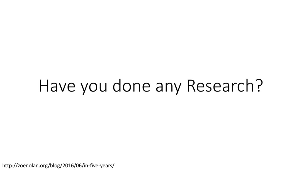Have you done any Research? http://zoenolan.org...