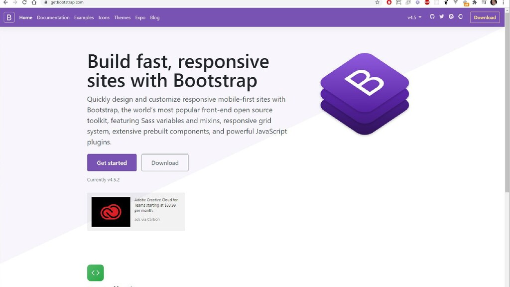 Bootstrap Gettingstarted ess Components JavaScr...