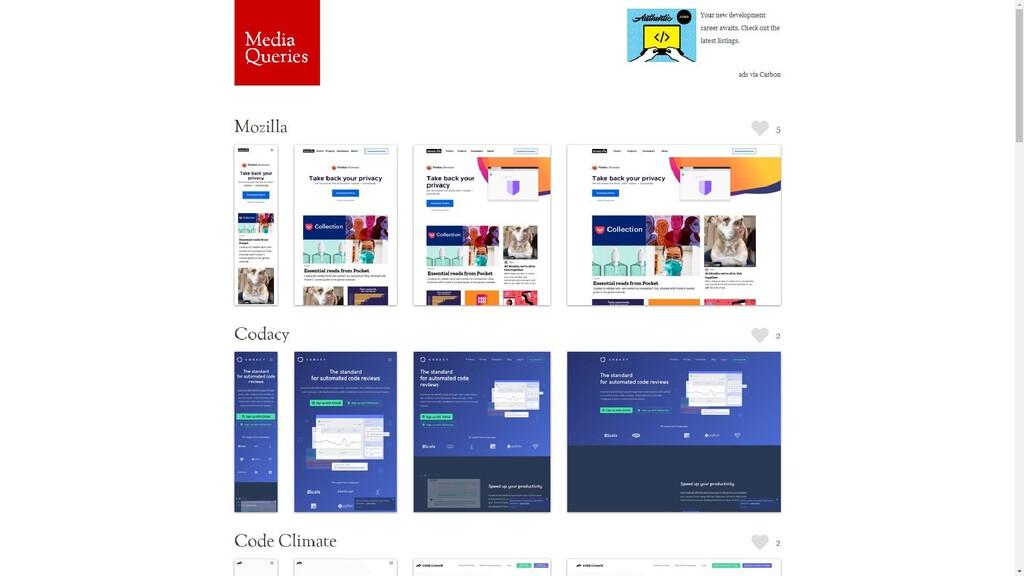 Inspiration för responsiv design? http://mediaq...